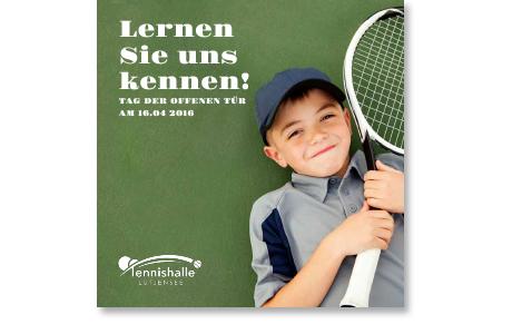 Faltflyer Tennishalle Lütjensee