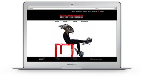 Webshop Sascha Koneva Berlin